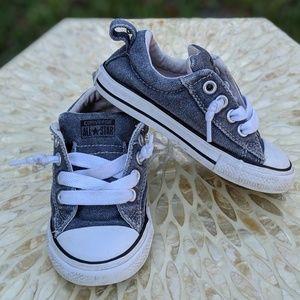 Baby Converse CTAS Street Slip-On Denim Sneaker